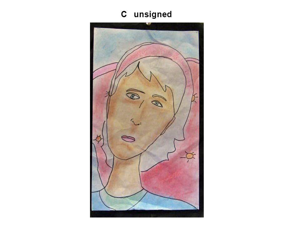 C unsigned