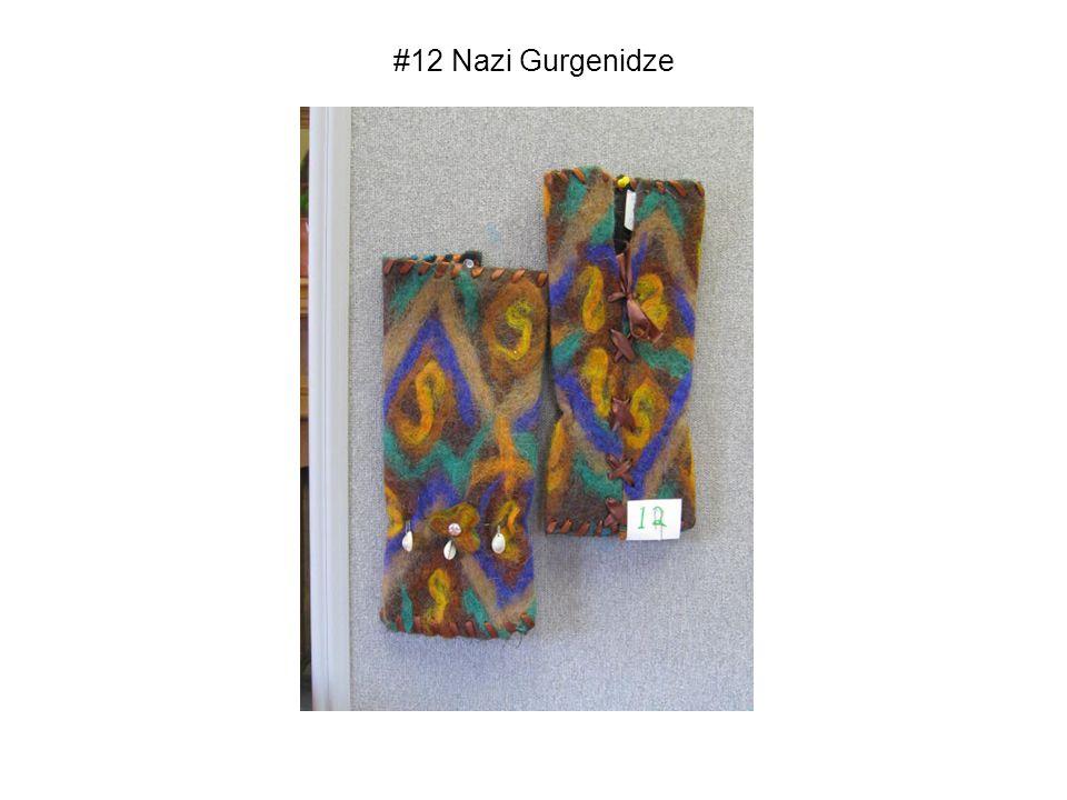 #12 Nazi Gurgenidze