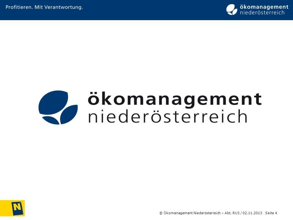 Barbara Nährer © Ökomanagement Niederösterreich – Abt. RU3 /