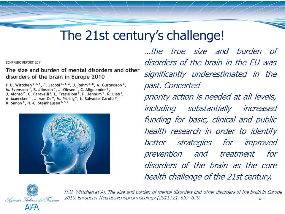 The 21st century's challenge!