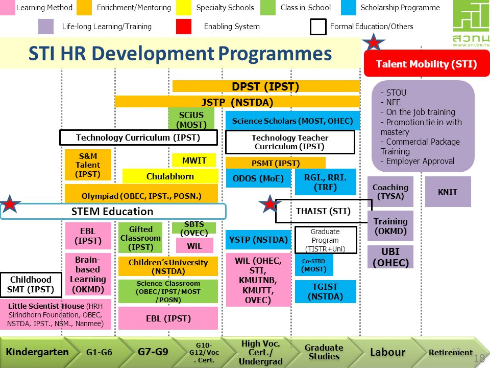 STI HR Development Programmes