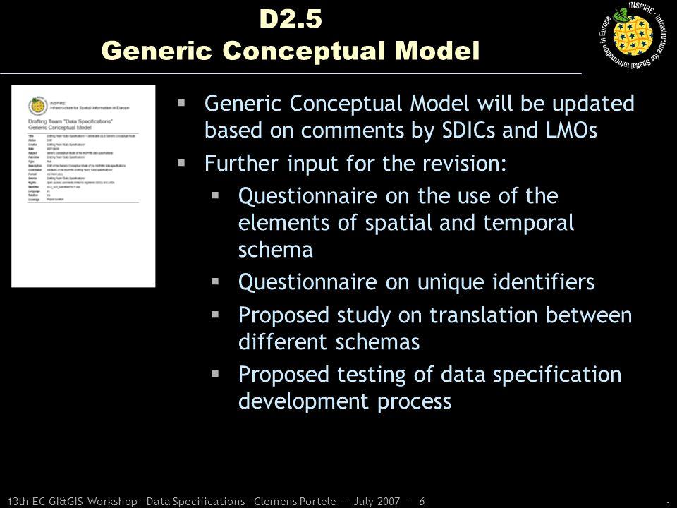 D2.5 Generic Conceptual Model