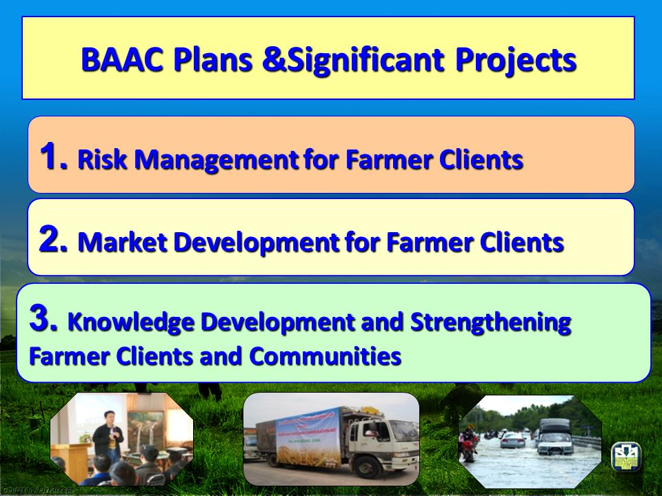 BAAC Plans &Significant Projects