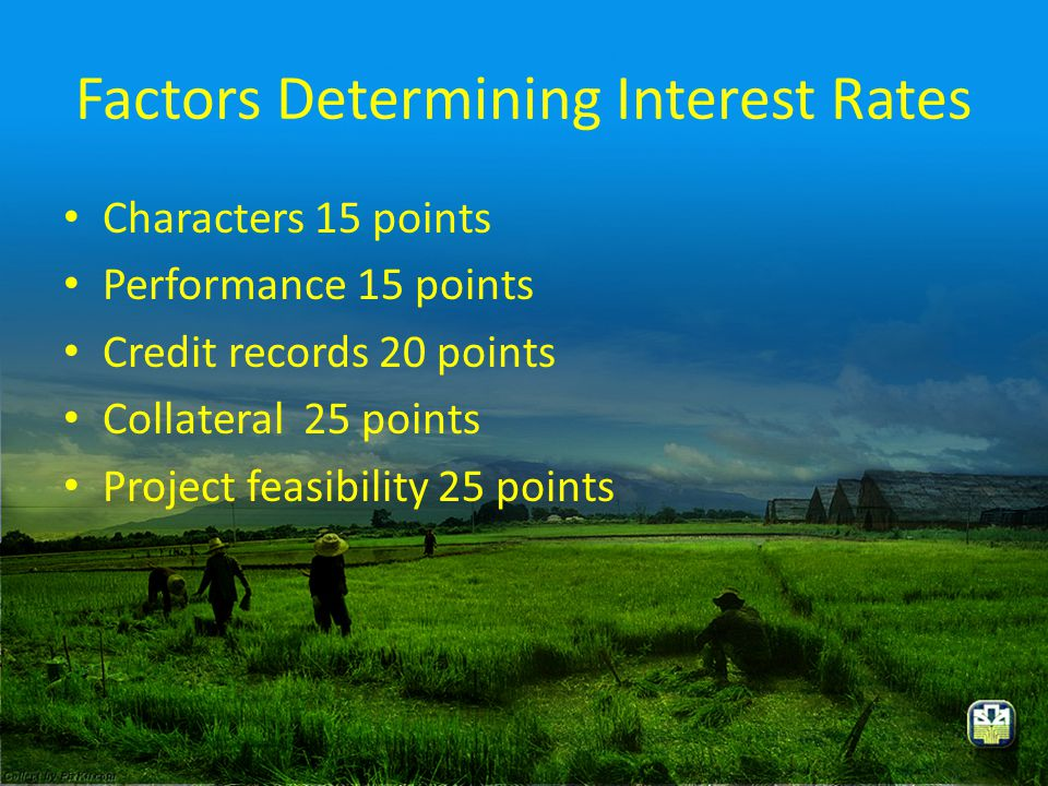 Factors Determining Interest Rates