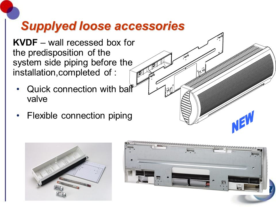 Supplyed loose accessories