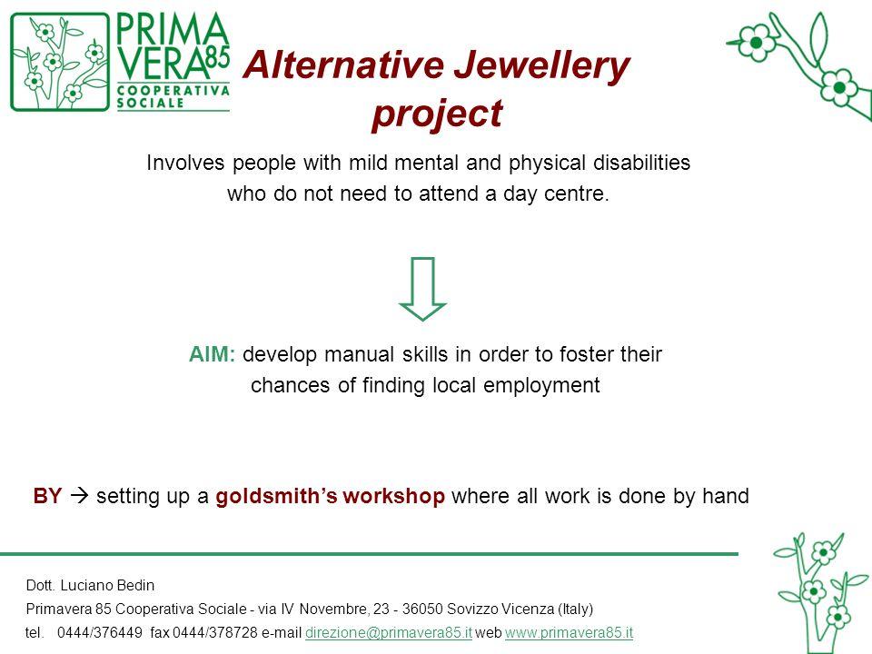 Alternative Jewellery project