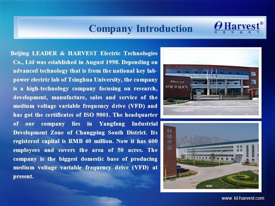 Company Introduction www. ld-harvest.com
