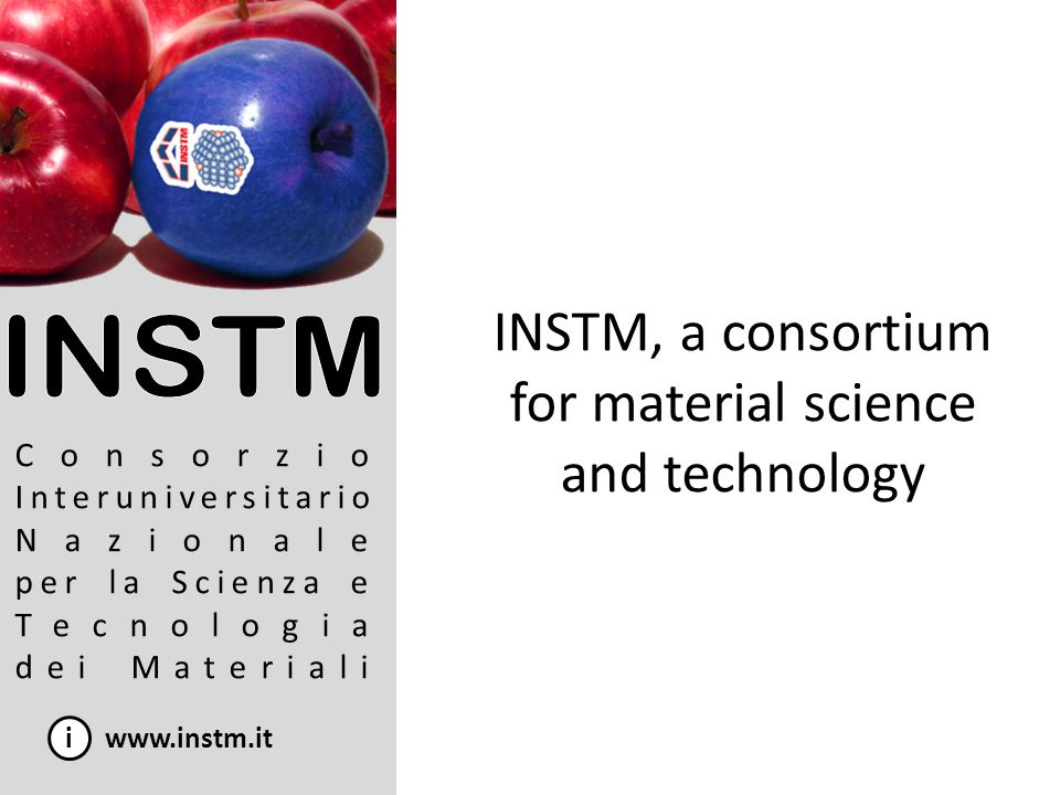 INSTM, a consortium for material science and technology