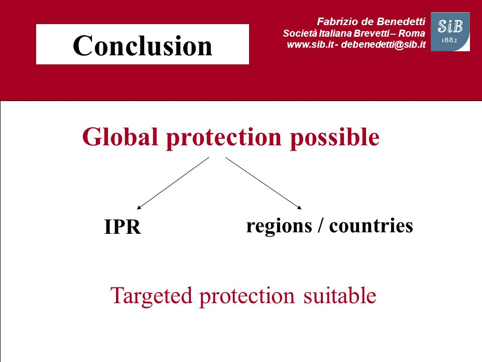 Global protection possible