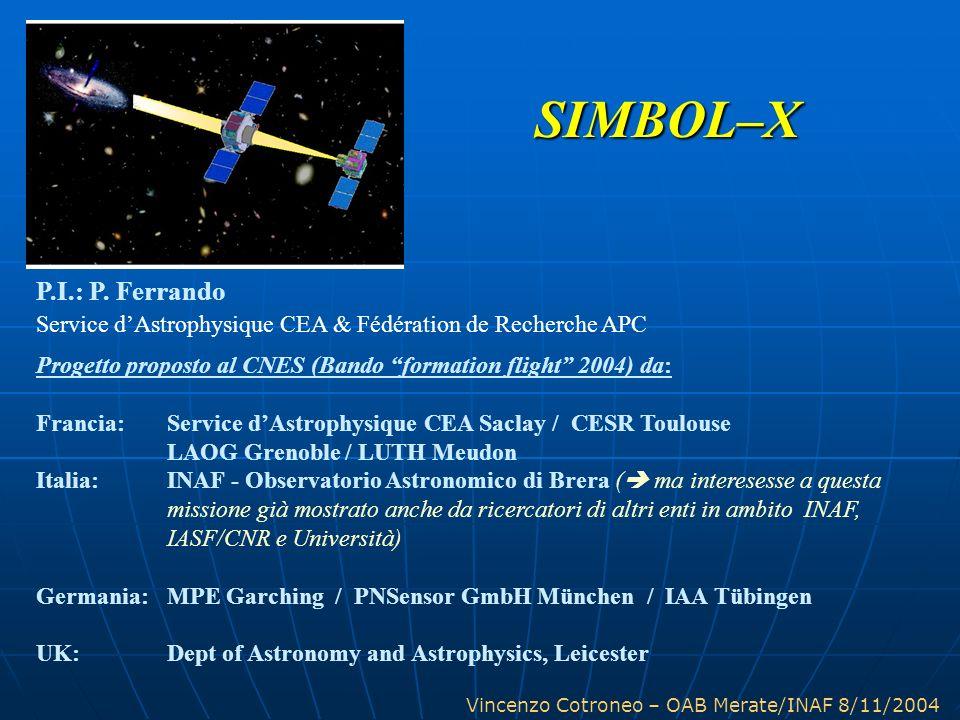 SIMBOL–X P.I.: P. Ferrando