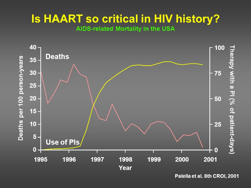 Is HAART so critical in HIV history AIDS-related Mortality in the USA
