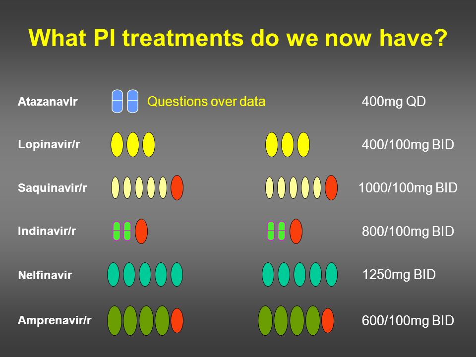 What PI treatments do we now have
