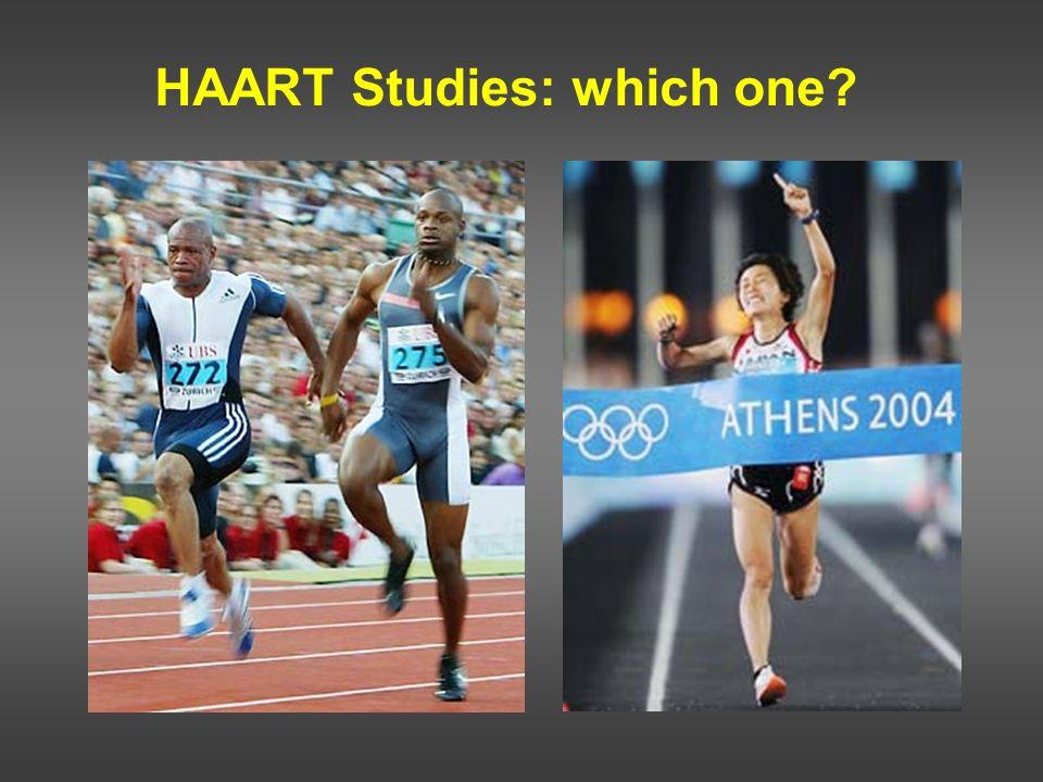 HAART Studies: which one