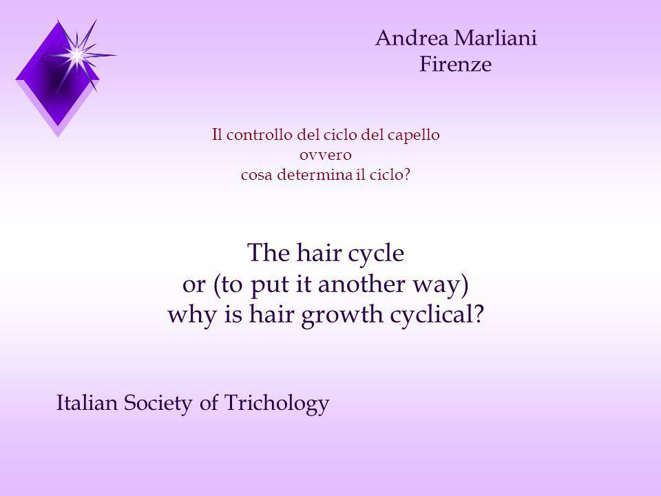 or (to put it another way) why is hair growth cyclical