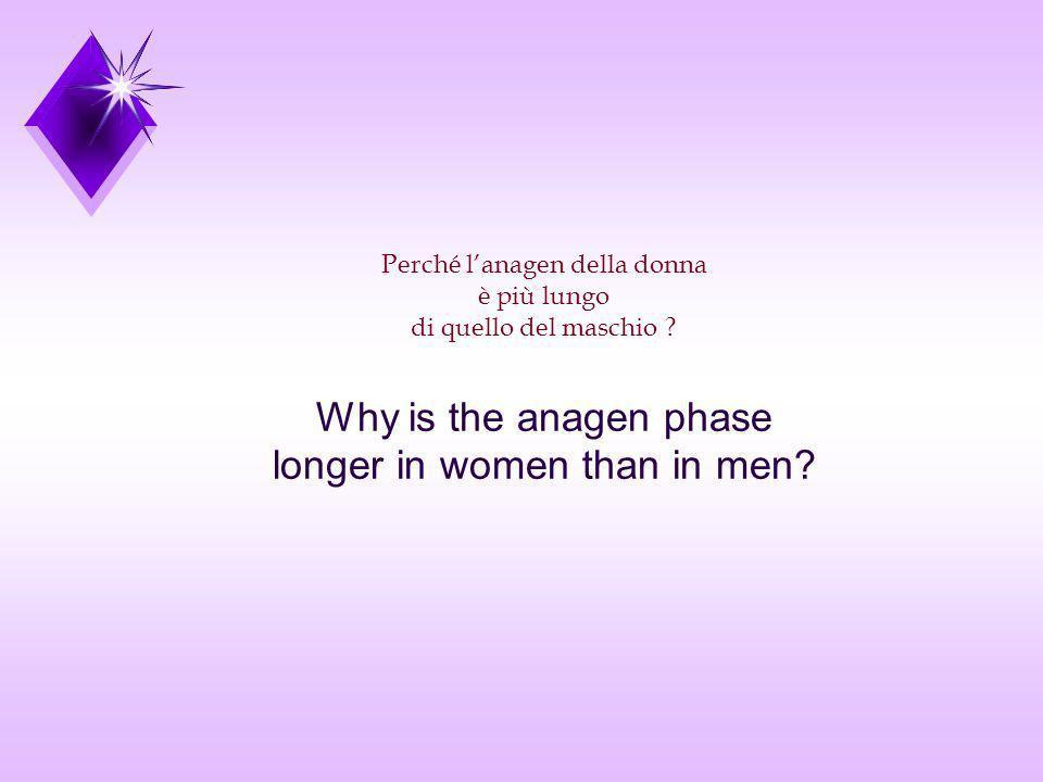 longer in women than in men