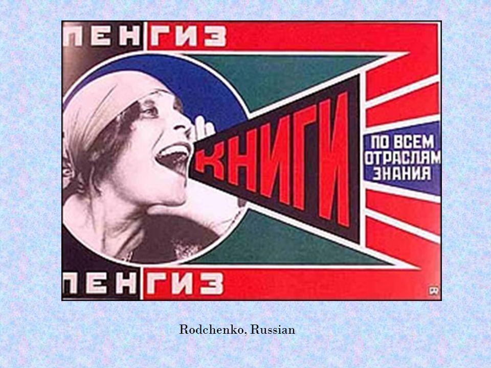 Rodchenko, Russian