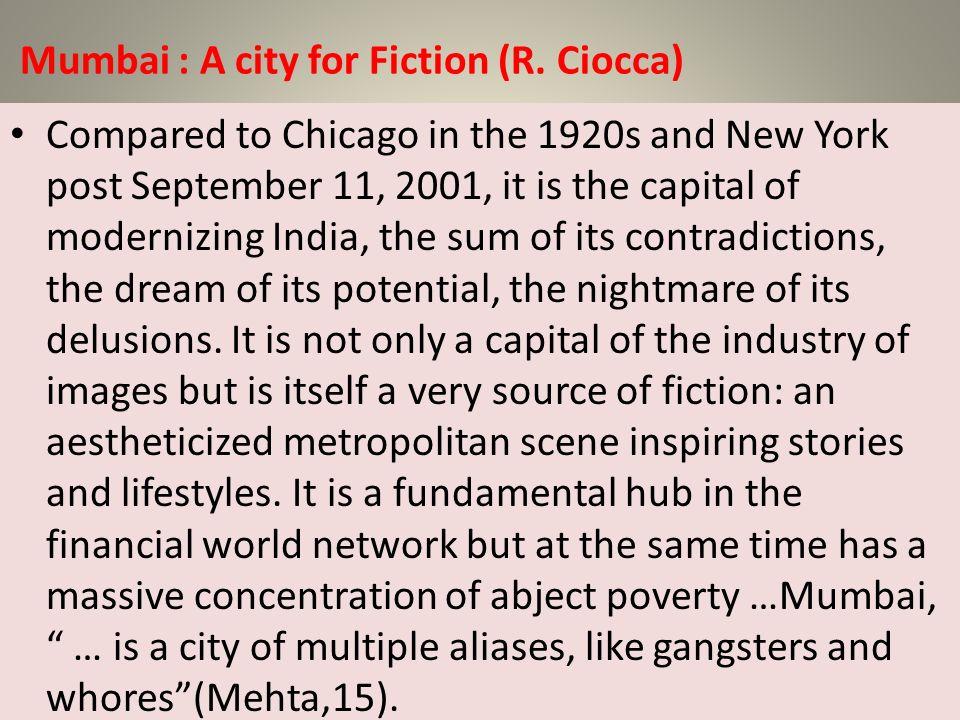 Mumbai : A city for Fiction (R. Ciocca)