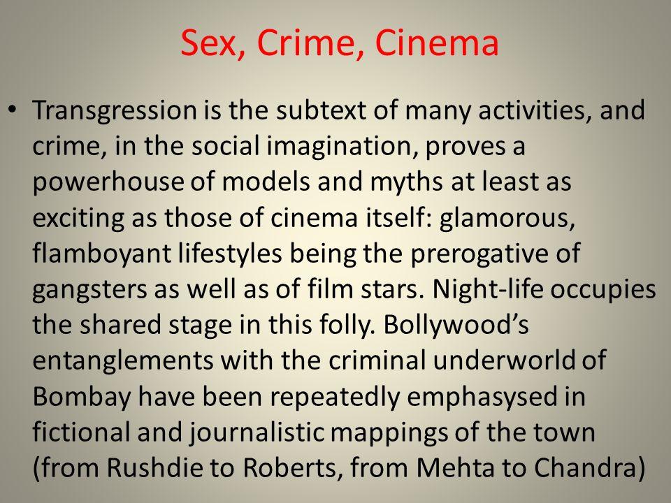 Sex, Crime, Cinema