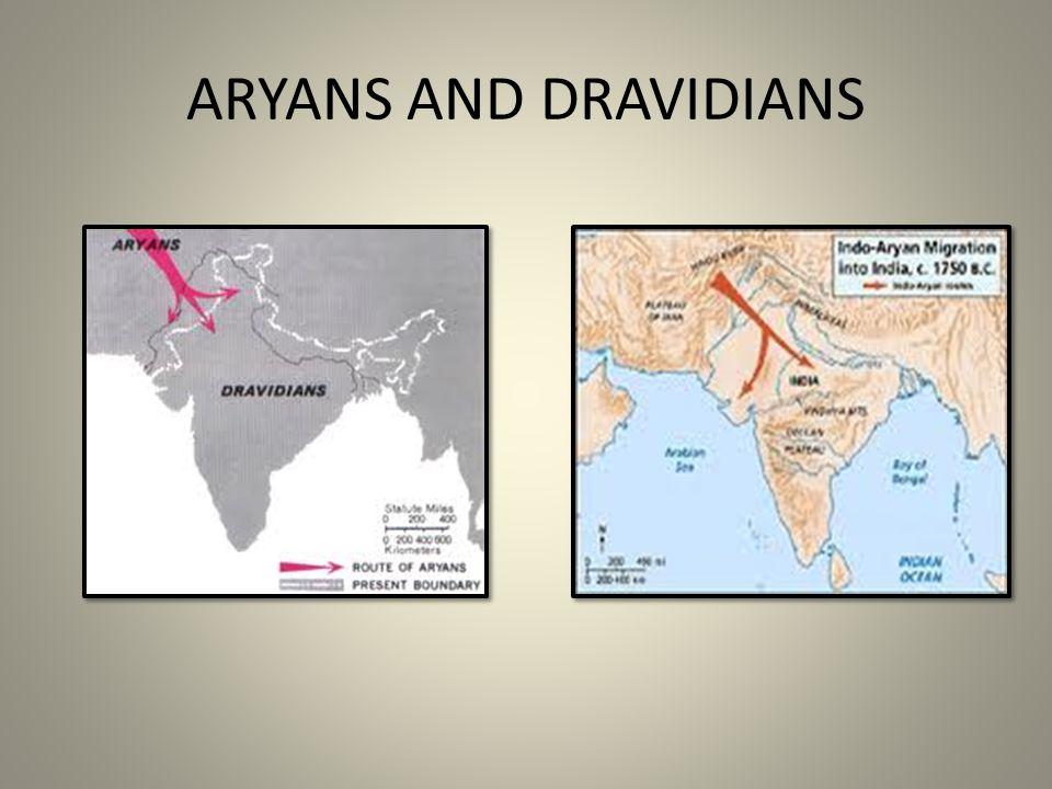ARYANS AND DRAVIDIANS