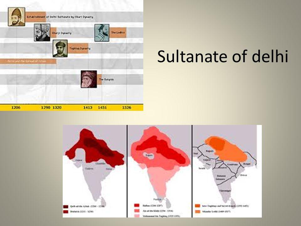 Sultanate of delhi