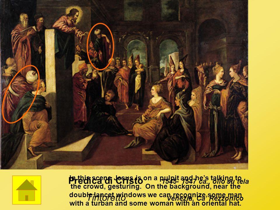 Predica di Cristo Tintoretto