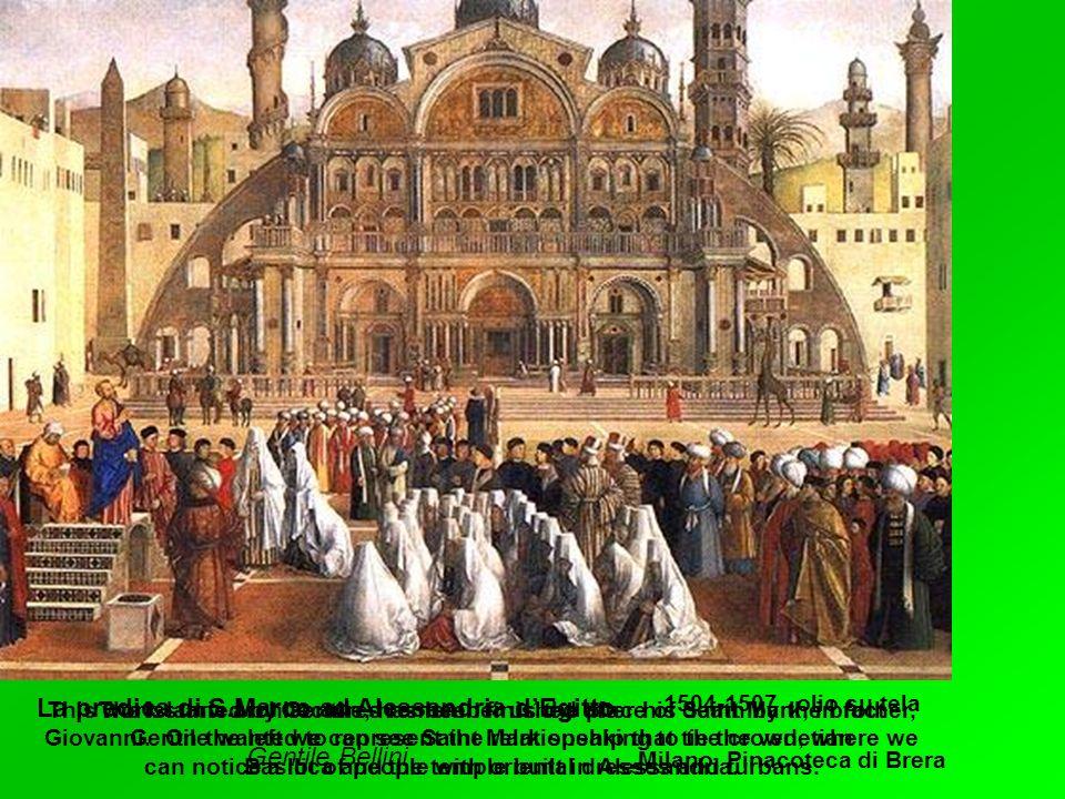 La predica di S.Marco ad Alessandria d'Egitto