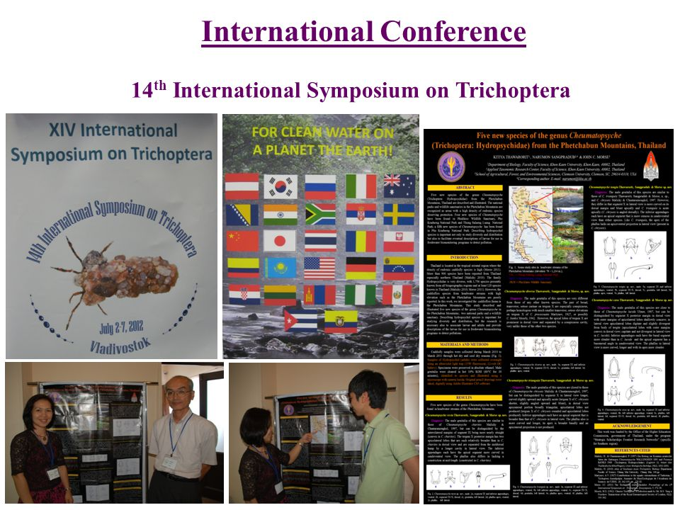 14th International Symposium on Trichoptera