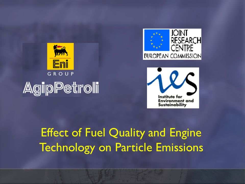 Effect of Fuel Quality and Engine Technology on Particle Emissions