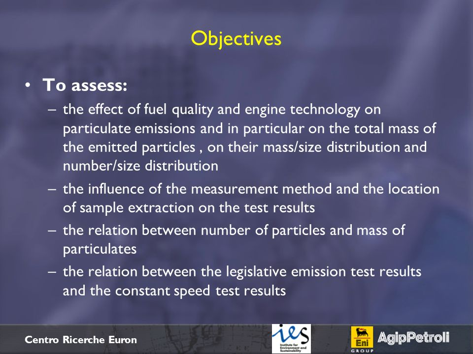 Objectives To assess: