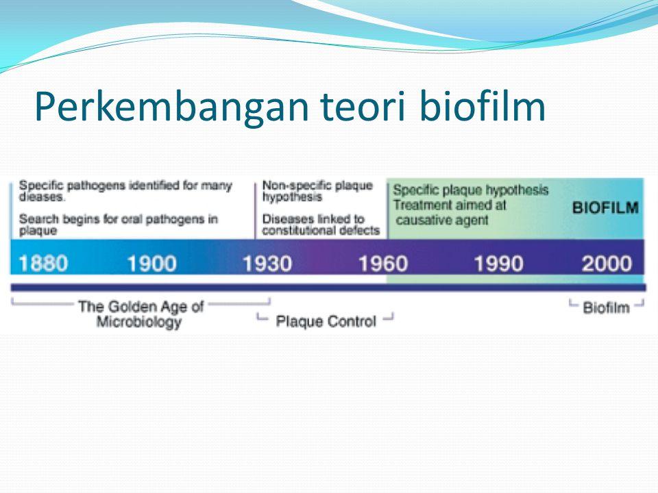 Perkembangan teori biofilm