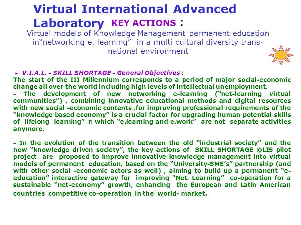 Virtual International Advanced Laboratory
