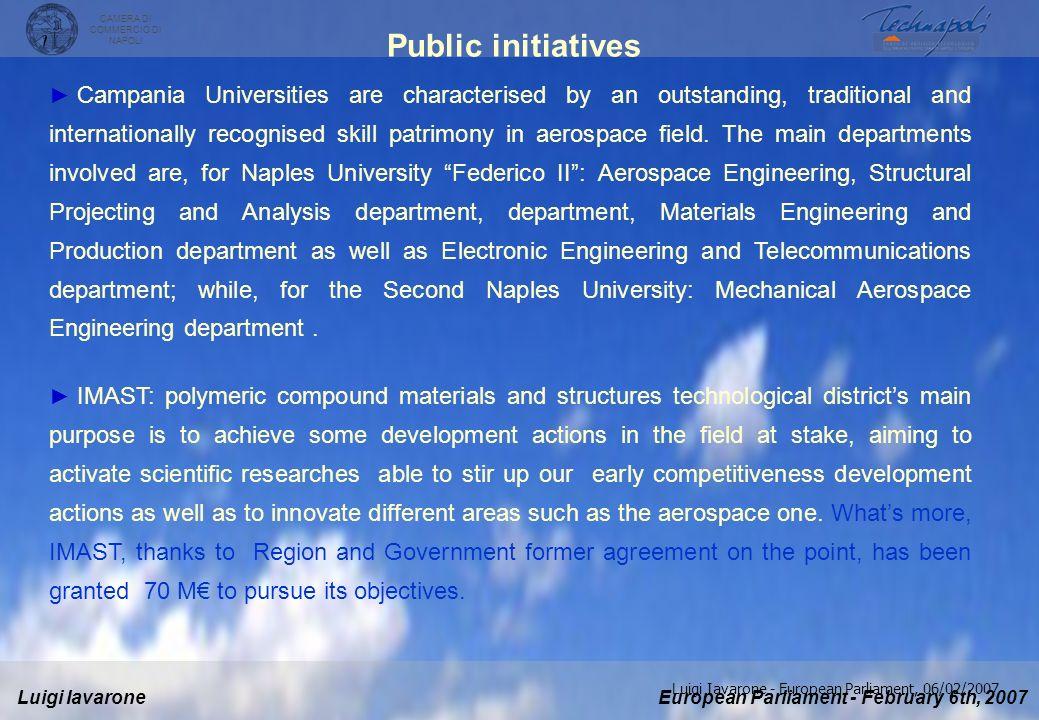 Public initiatives