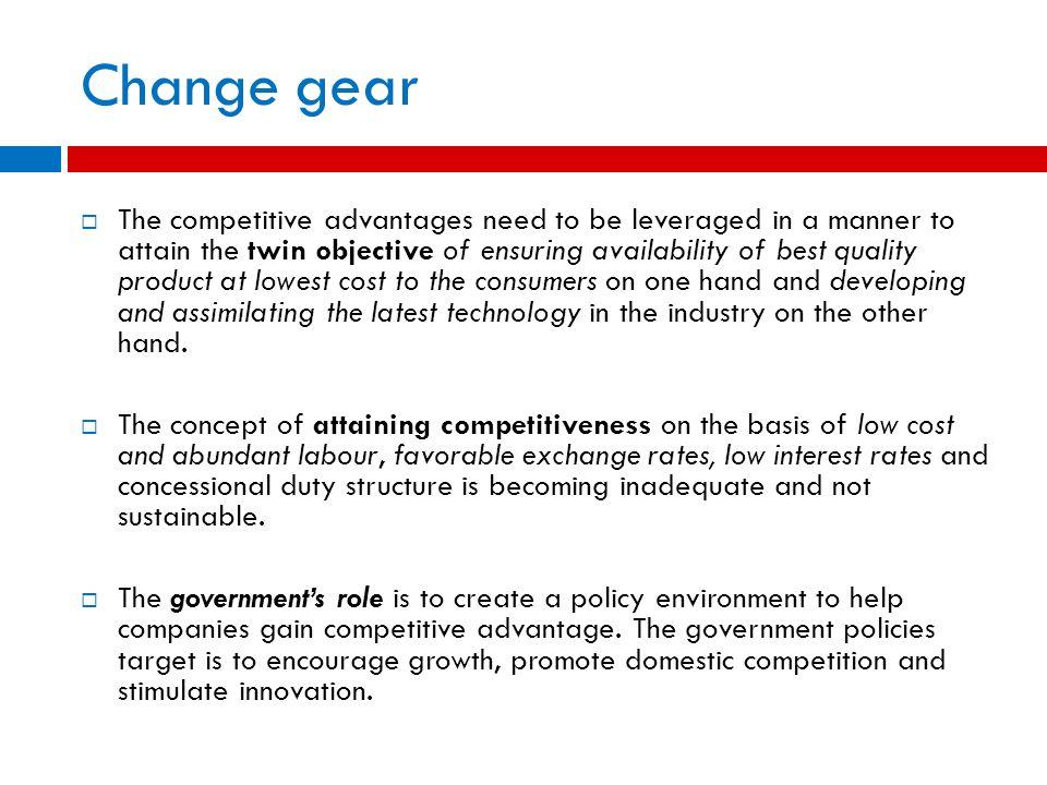 Change gear