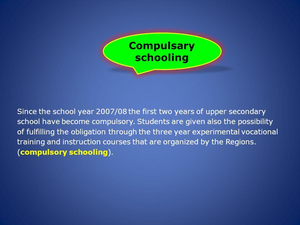 Compulsary schooling