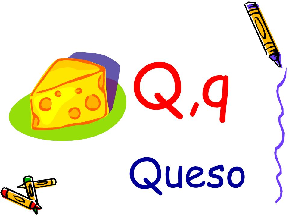 Q,q Queso
