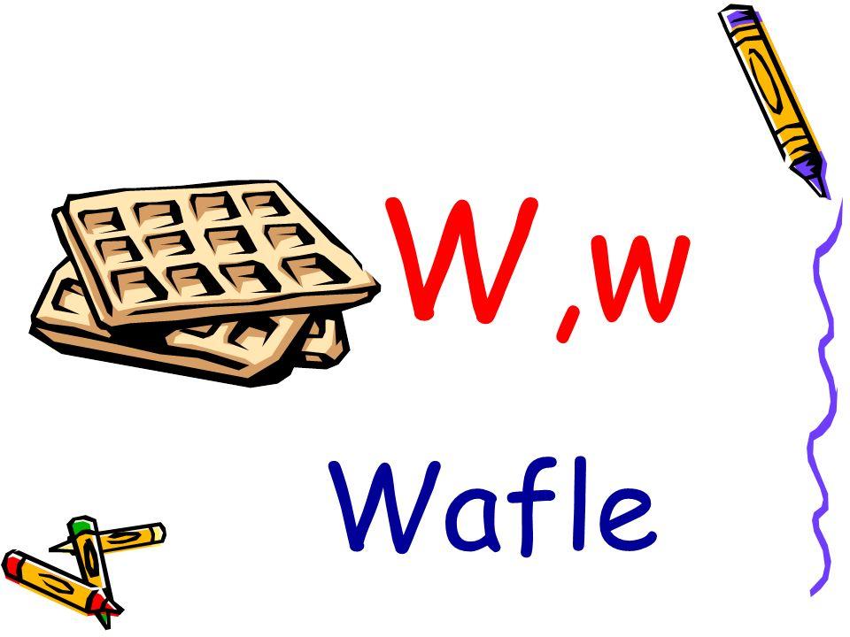W,w Wafle