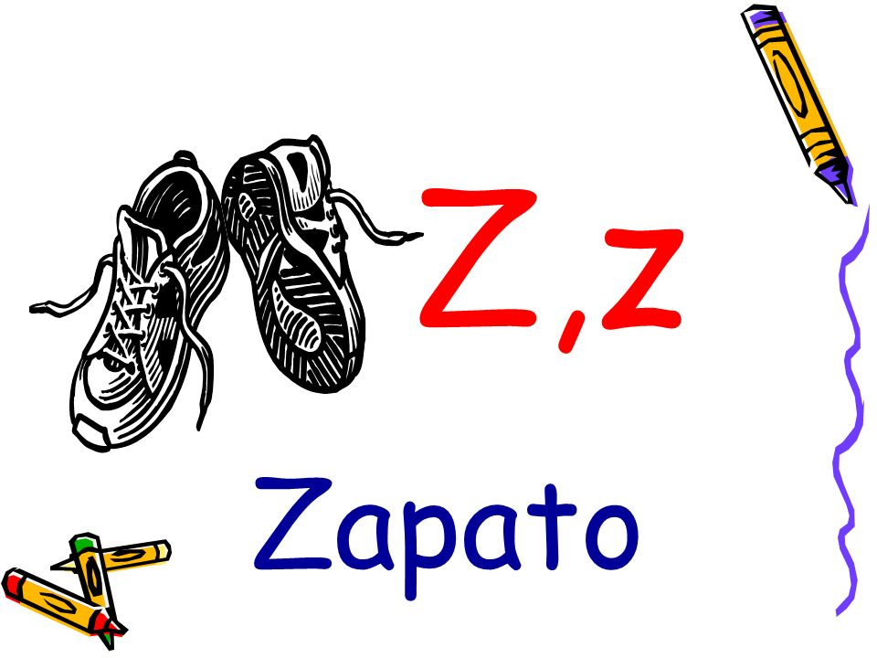 Z,z Zapato