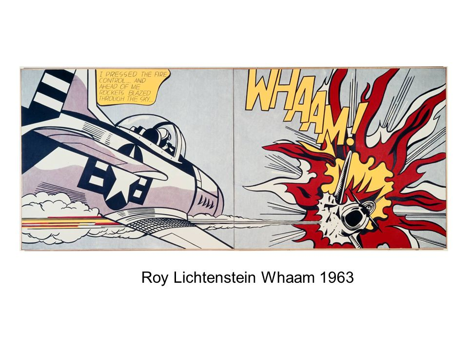 Roy Lichtenstein Whaam 1963