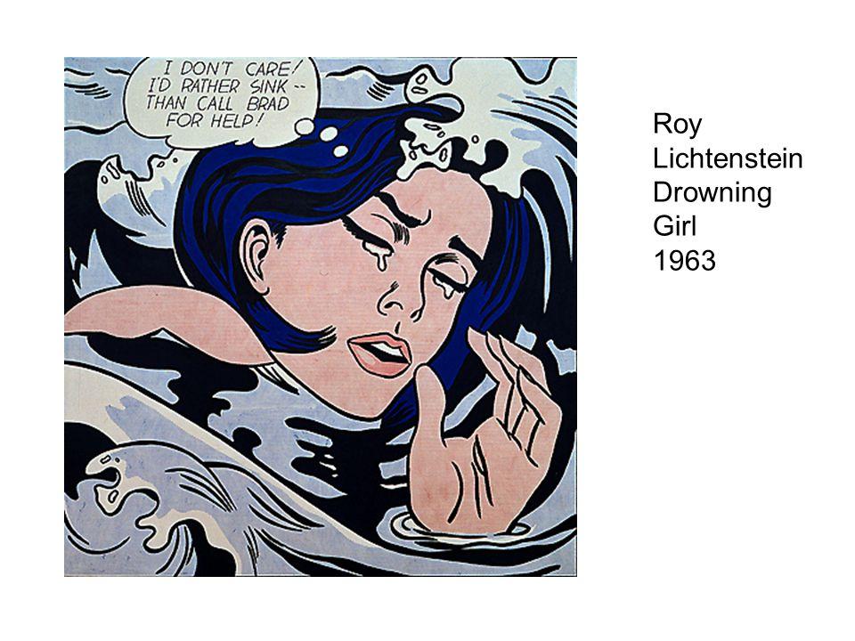 Roy Lichtenstein Drowning Girl 1963