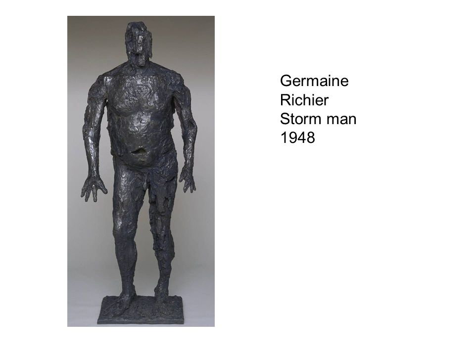Germaine Richier Storm man 1948