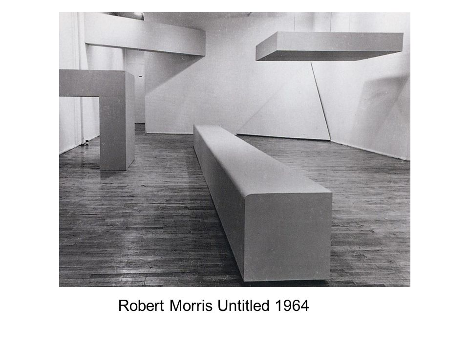 Robert Morris Untitled 1964