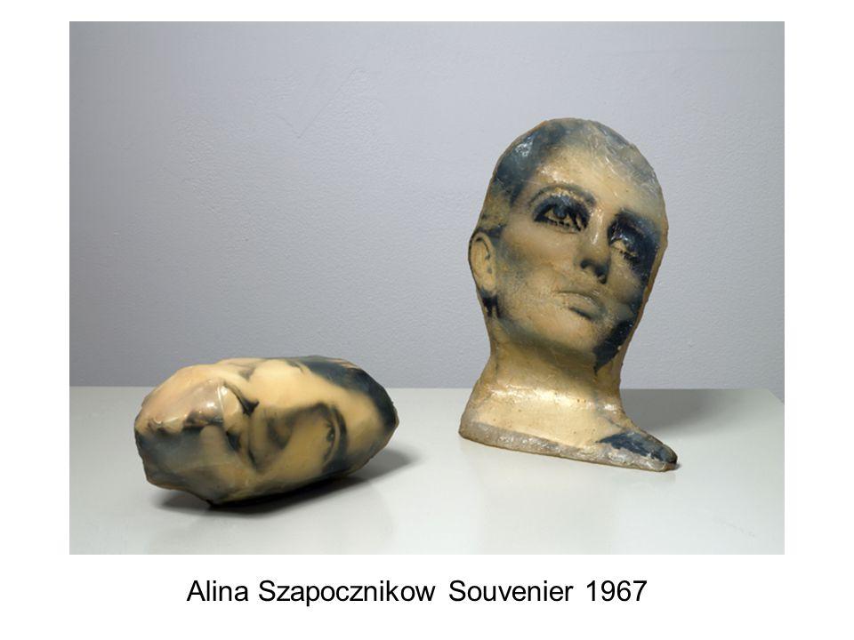 Alina Szapocznikow Souvenier 1967