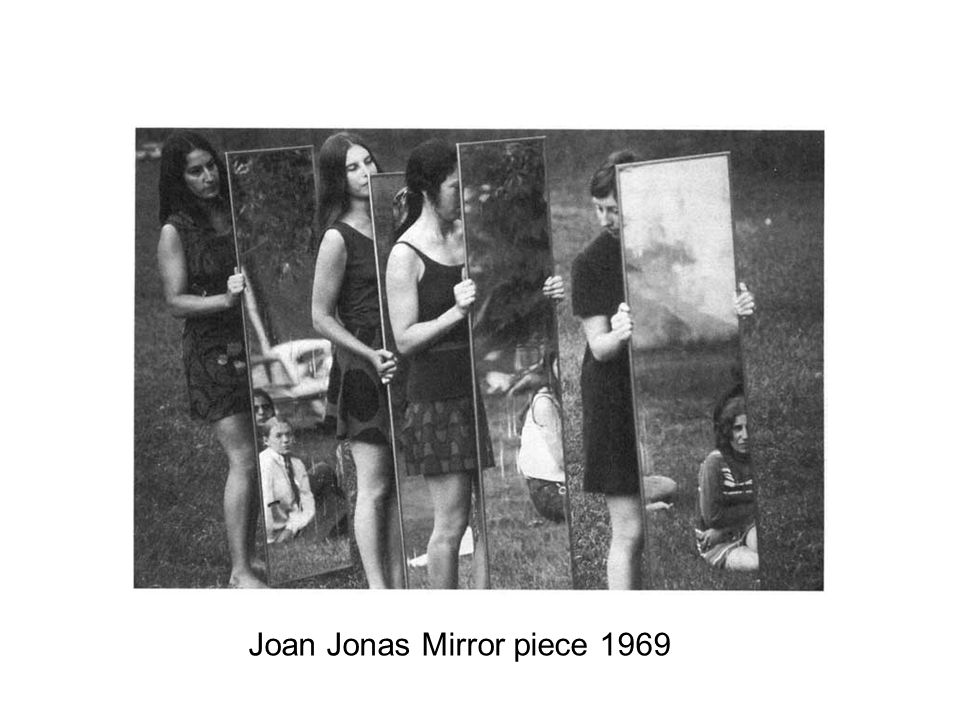 Joan Jonas Mirror piece 1969