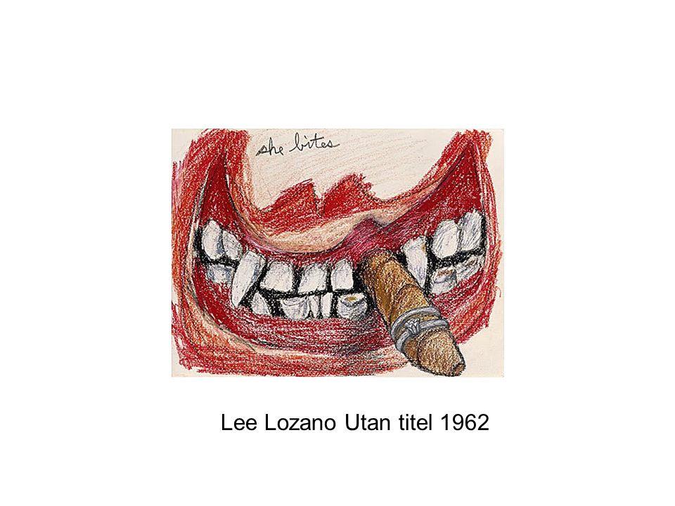 Lee Lozano Utan titel 1962