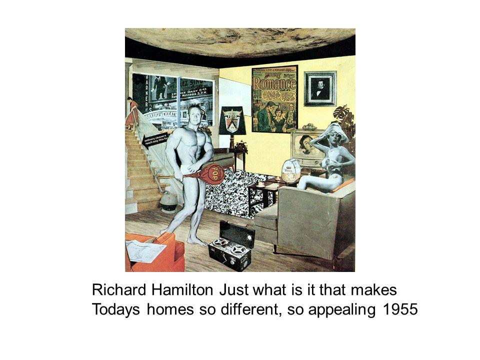 Richard Hamilton Just what is it that makes