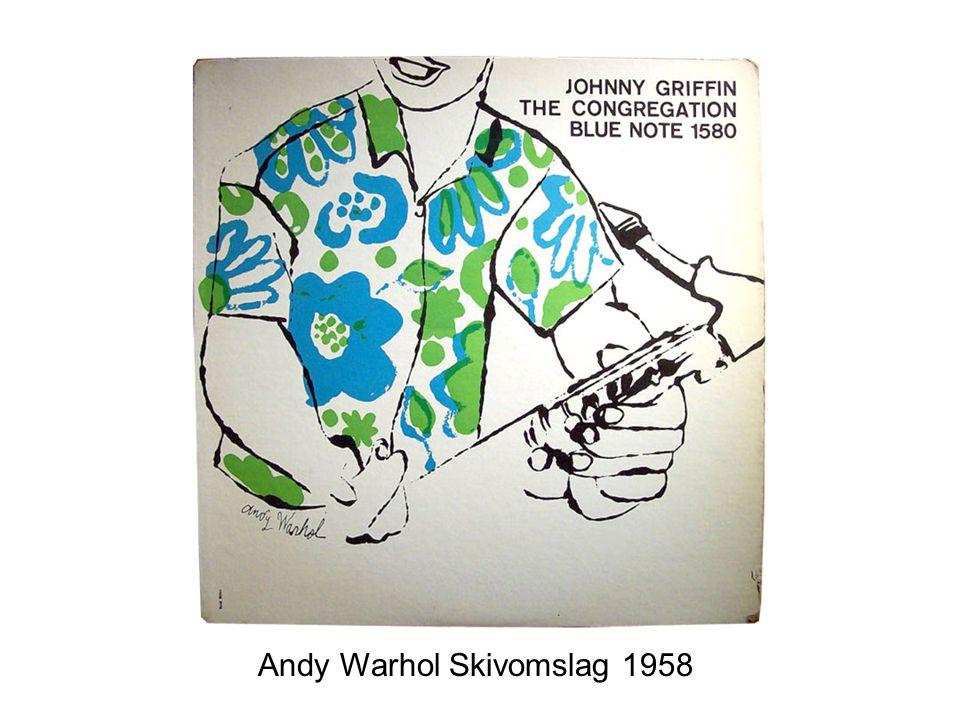 Andy Warhol Skivomslag 1958