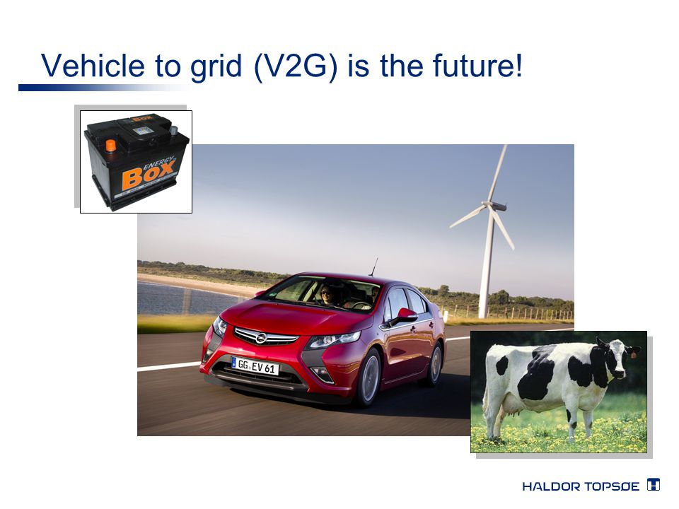 Vehicle to grid (V2G) is the future!
