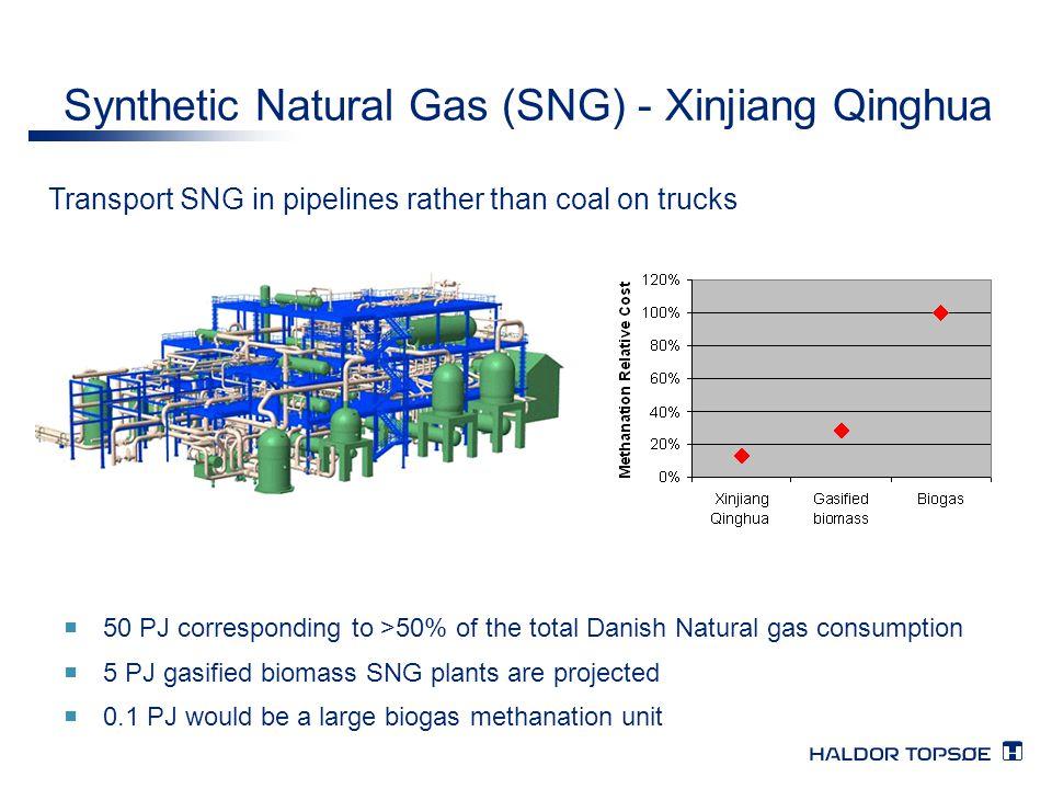 Synthetic Natural Gas (SNG) - Xinjiang Qinghua