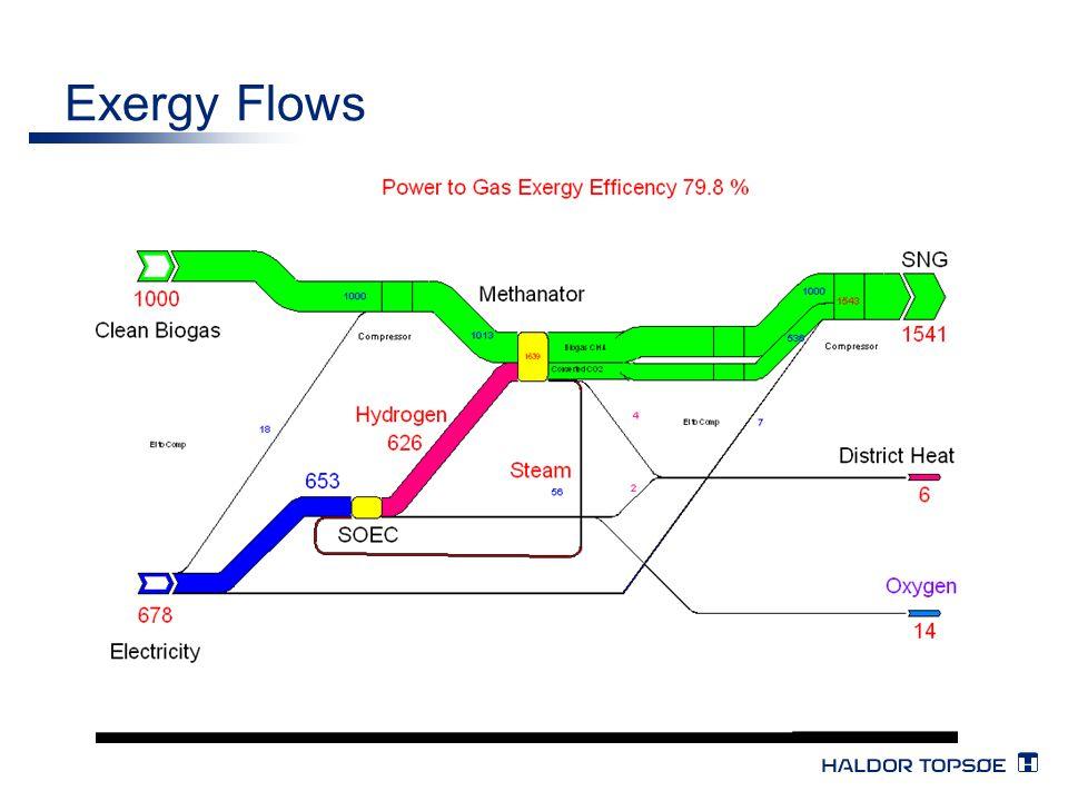 Exergy Flows