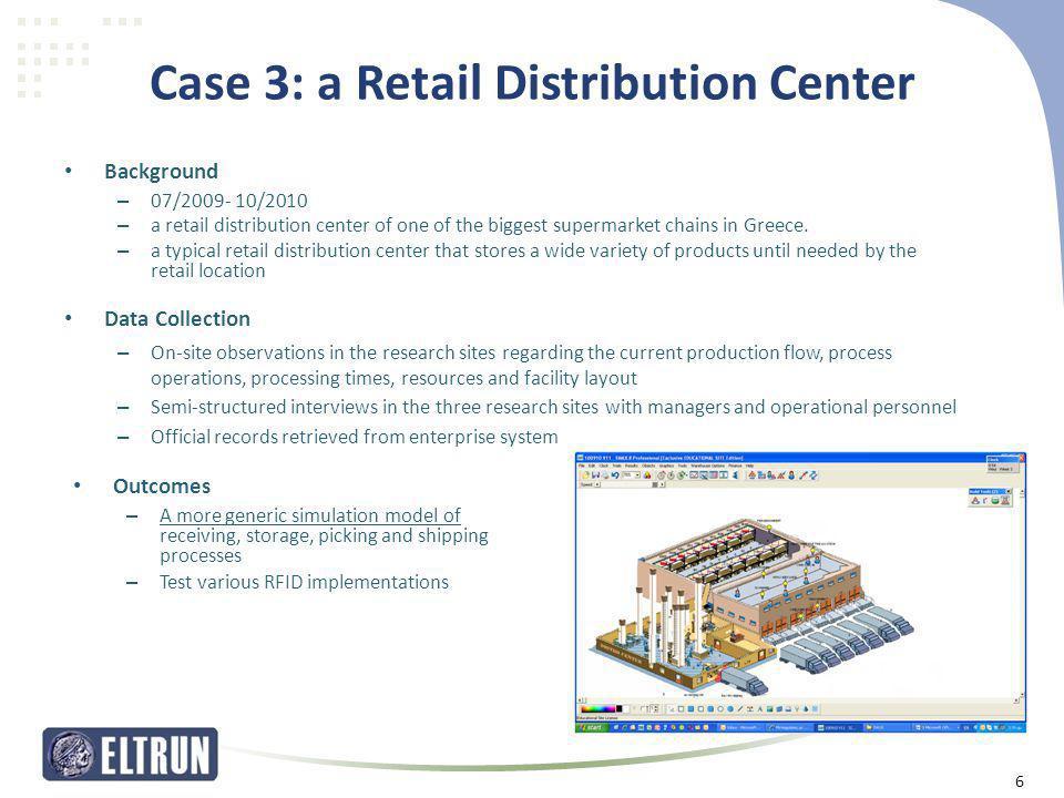Case 3: a Retail Distribution Center